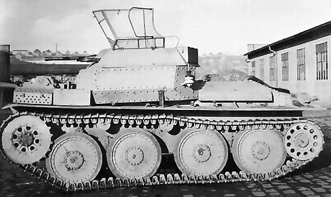 aufklarungspanzer 38t - German Tech Tree Proposal: Assault TD and Turreted TD Lines