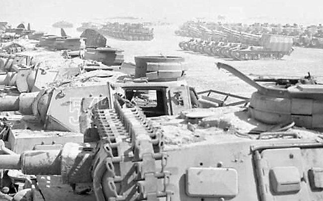 Captured 15 cm sFH 13 auf Lorraine Schlepper SPG