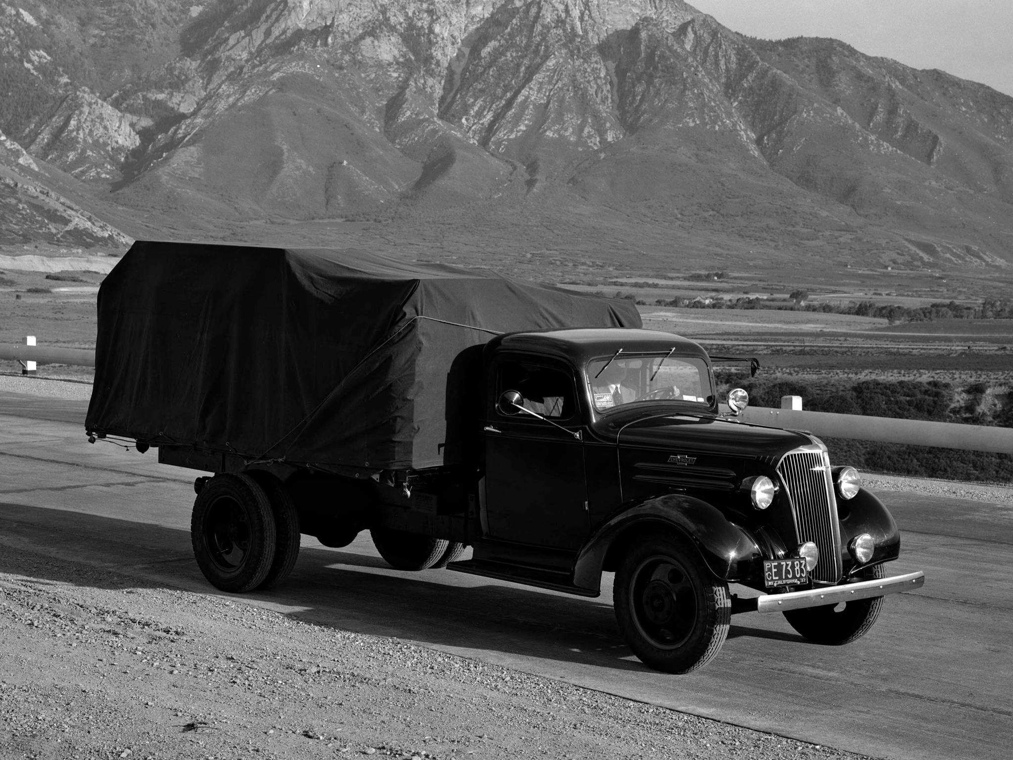 The original Chevrolet SD 1937 lorry