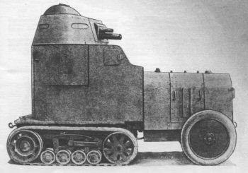 Schneider Kégresse modele 1923