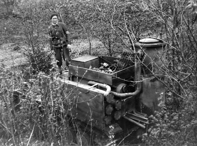 Another Fahrschulepanzerwagen II. These photographs were taken in 1945 Yugoslavia and had been captured by Soviet forces along with some Italian tanks.