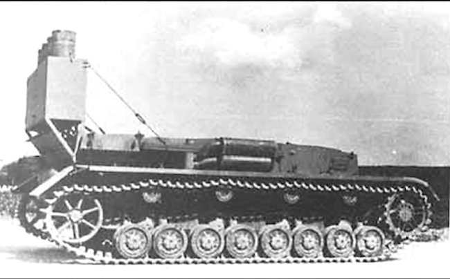 A good side view of a Fahrschulepanzer IV and its Stadtgas cylinders.
