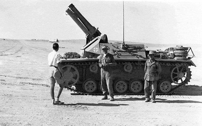 15cm sIG 33 L/11(Sf) auf Fahrgestell Panzerkampfwagen III Ausf.H (Sf).