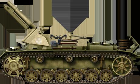 15cm sIG-33 L/11_auf_Fahrgestell_Panzerkampfwagen-III_Ausf-H(Sf)