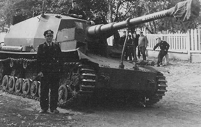 The Dicker Max was based on a Panzer IV tank chassis