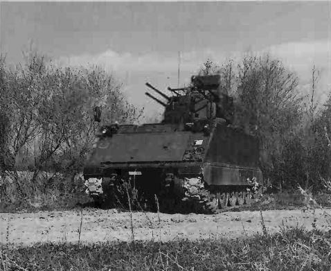 M113A2 with SIDAM