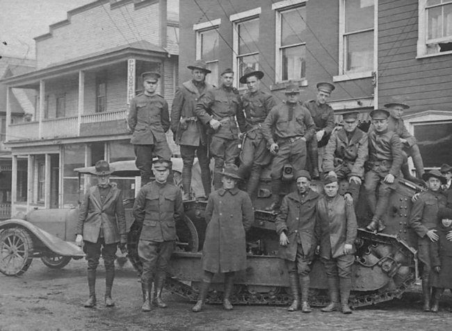 M1917 tank of the 3rd Tank Company, Special Troops, 3rd Division