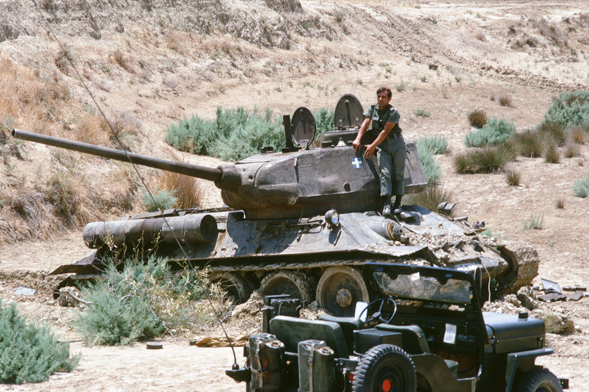 Greek-Cypriot-T34-85