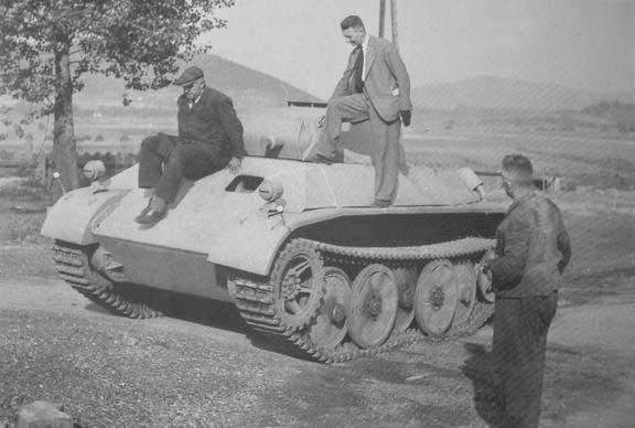 Around the internet this tank is claimed to be the Leopard; it is not. These photos are of a Panzer II Ausf.L Luchs variant