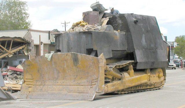 marvin heemeyer u0026 39 s armored bulldozer