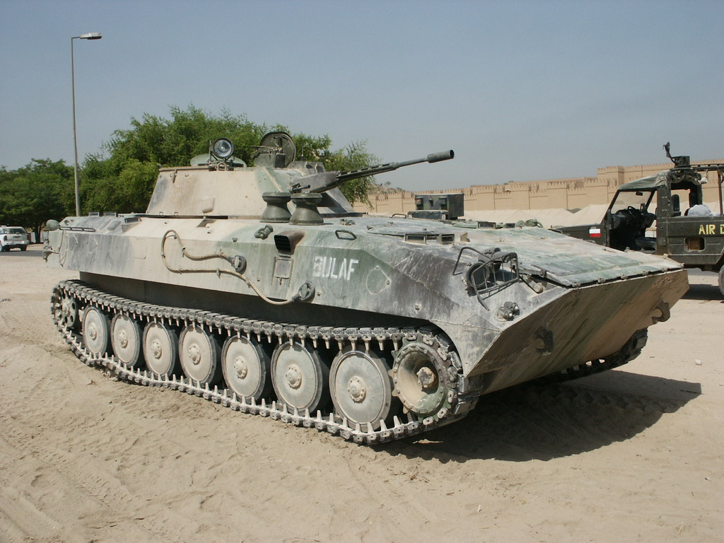 Camouflaged BMP-23D BULAF, Iraq, 2000s.