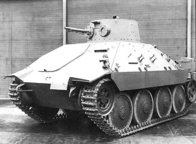 PM-1 Flame Tank right side