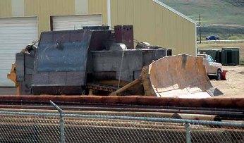 Marvin Heemeyers Armored Bulldozer