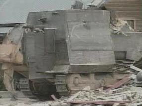 Various shots of the Killdozer