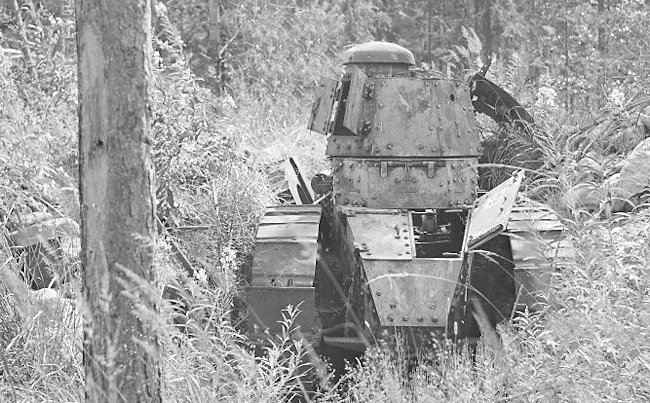 Abandoned Finnish Army Renault FT