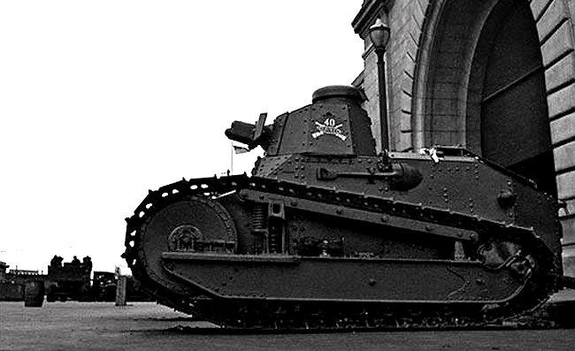 M1917 Pier 1 tank