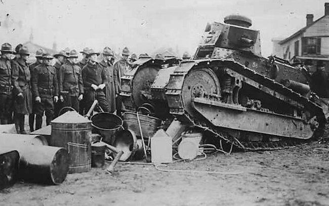 M1917 US light Tank