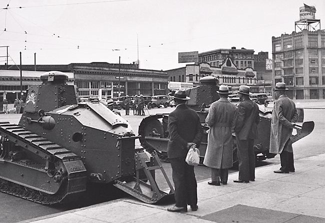 M1917 tanks and the San Francisco General Strike of 1934