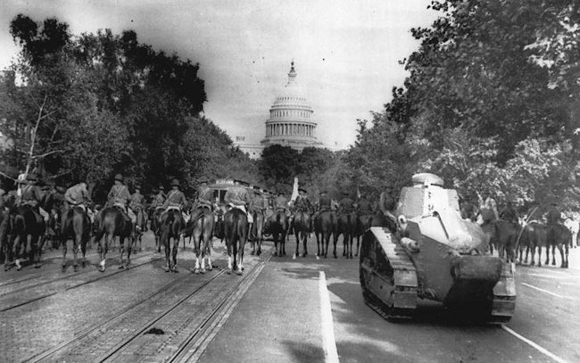 M1917 tanks in Washington