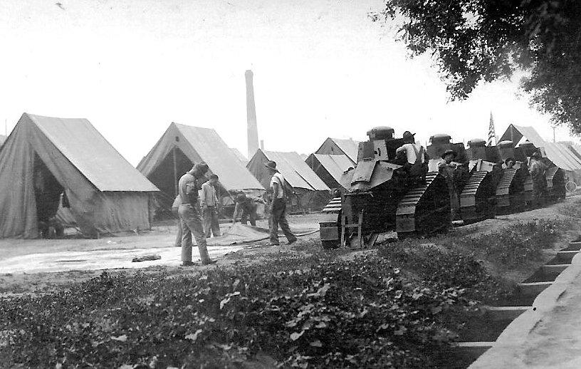 M1917 tanks