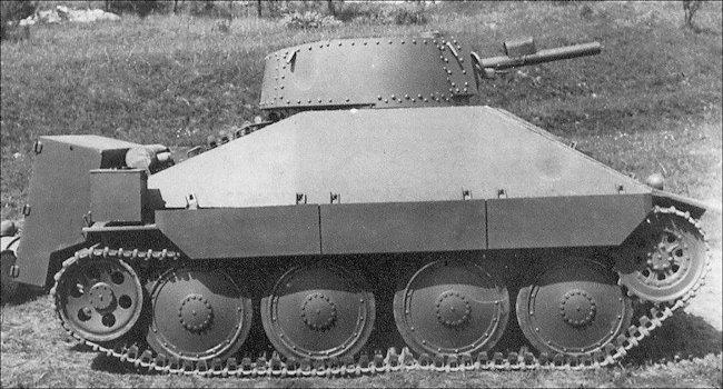PM-1 Flame Tank