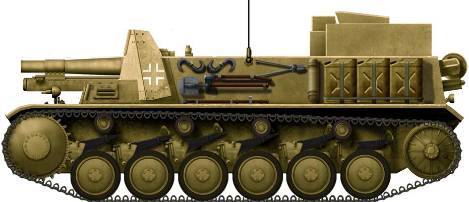15cm sIG 33 auf Fahrgestell Panzerkampfwagen II (Sf)