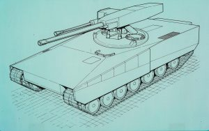 The Strv 2000 O140/40 design