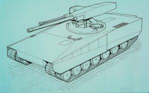The Strv 2000 O140/40 design