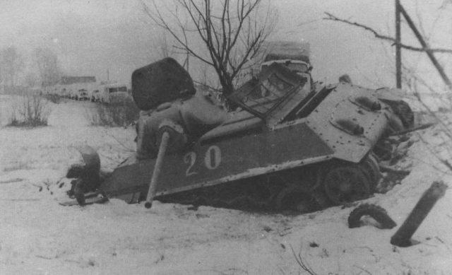 The famous White 20 T-34 Exterminator