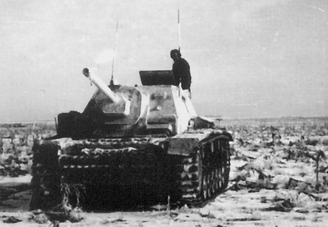 Only the command version of the SU-76i SPG was fitted with a cupola - Eastern Front, Winter 1943-44