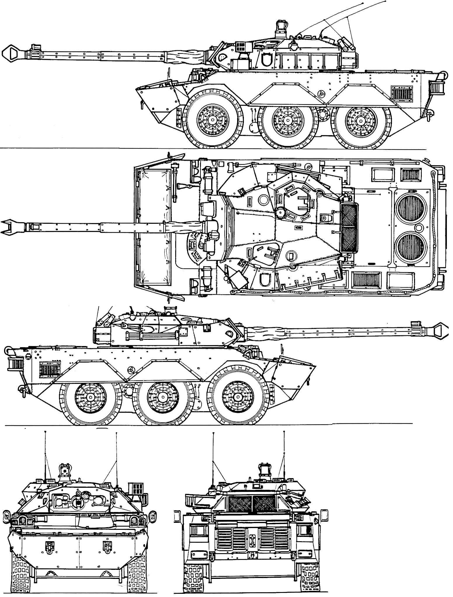 AMX-10RC-blueprint