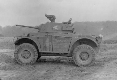 A good side-shot of a Coventry Armoured Car