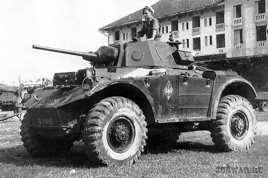 French Coventry AC in Indochina, 1947-52