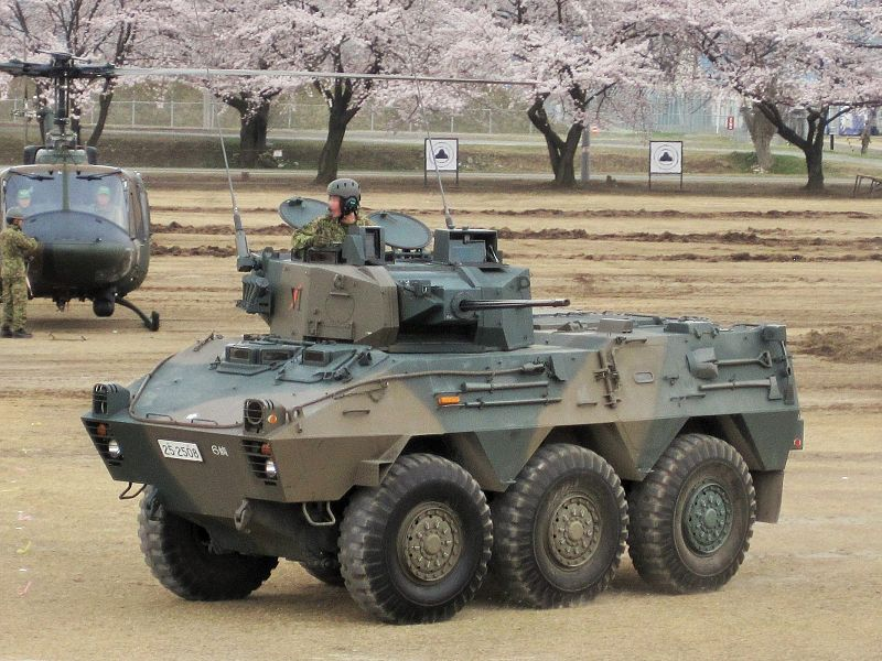 JGSDF_Type87_Reconnaissance_Combat_Vehicle