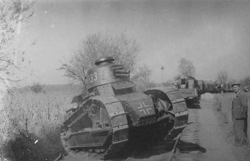 Panzerkampfwagen 17R 730c(f).