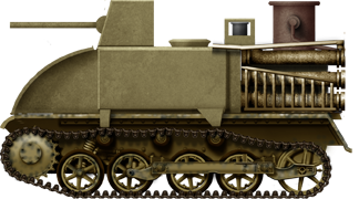 Fahrschulpanzer I Holzgas with a mock-up turret. It was meant to simulate an enemy tank during the training of Volkssturm troops