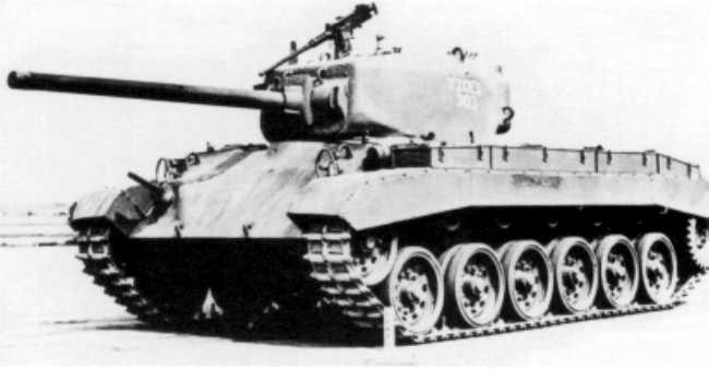 The T20E3, 1944