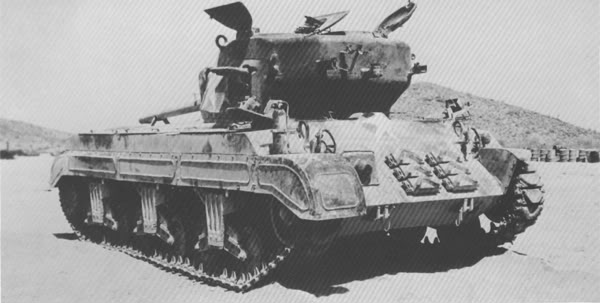The production version of the T23 medium tank