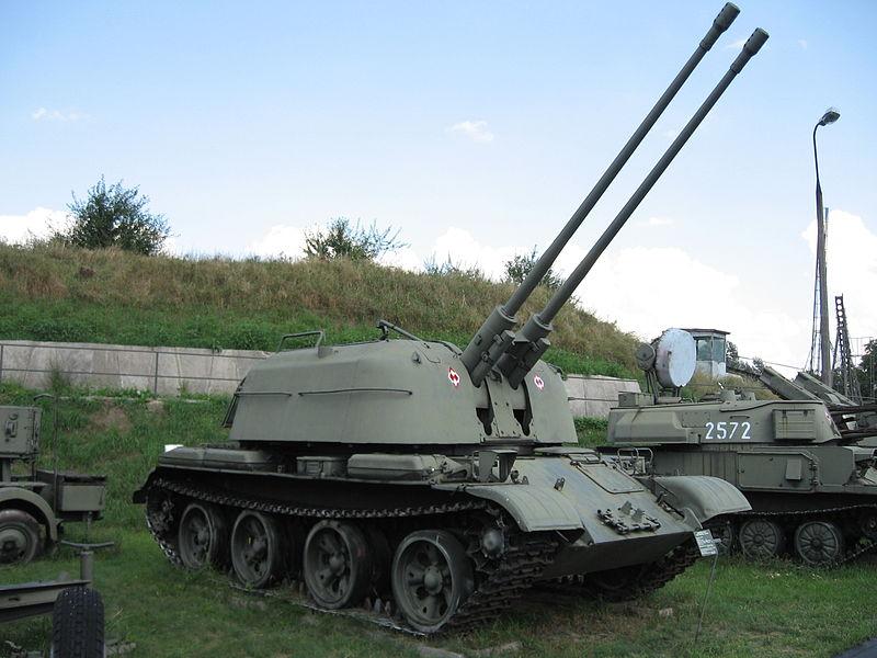 ZSU-57-2_SPAAG_at_the_Muzeum_Polskiej_Techniki_Wojskowej_in_Warsaw