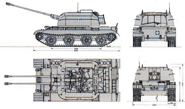 ZSU-57-2_blueprint