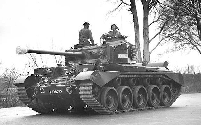 Queens Own Hussars, Berlin Brigade Comet tank Arrogant T335574 in 1960.