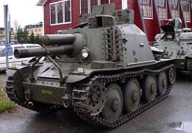 Stormartillerivagn Sav m/43 – Association Föreningen P5, Boden Sweden