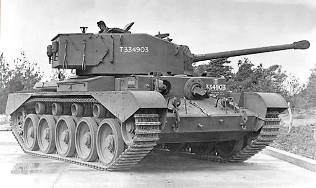 The British A34 Cruiser Tank Comet Mk.I Type A was used in North West Europe during 1945. This is the 3rd Comet to come off the production line - Photo: IWM MH4107