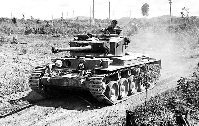 7th Royal Tank Regiment Comet in the Korean War