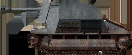 10.5cm leFH 16 auf Geschützwagen FCM 36(f), having just come out of the tank conversion workshop.