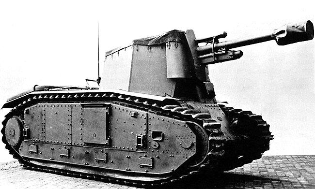 10.5cm le.F.H.18/3 (Sf) auf Geschuetzwagen B2(f) factory fresh having just been driven out of the workshop doors.