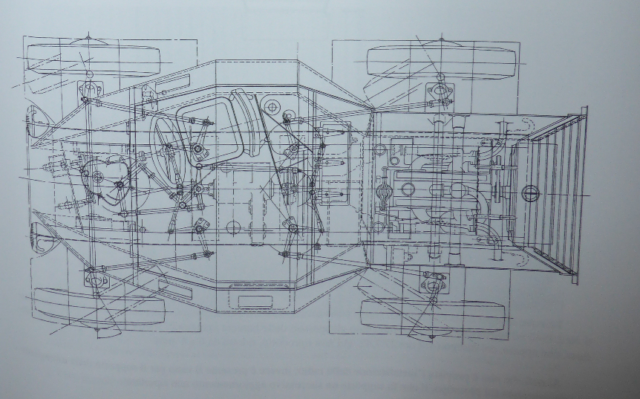 Overview schematic of the Autoblinda Lince