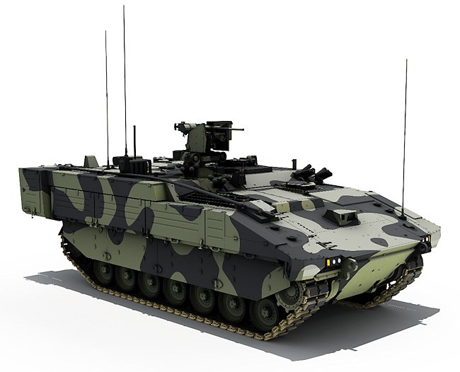 The ARES variant will be used to deliver and support specialist troops across the battlefield