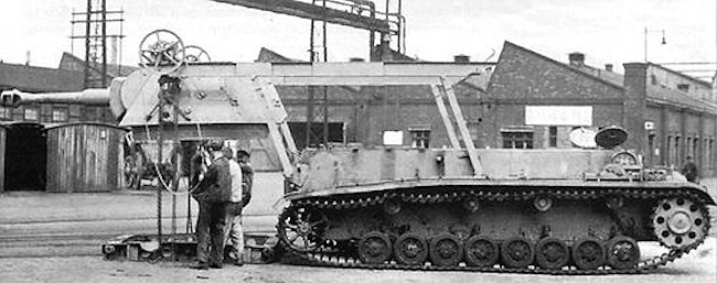 Turret removal on the Grasshopper