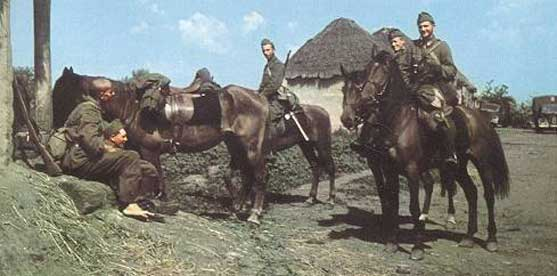 Hungarian Hussars in Poland